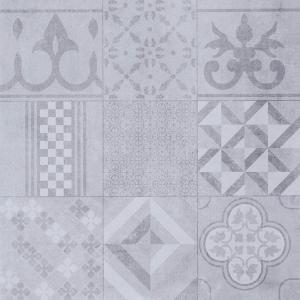 GeoCeramica® Mosaik, kleur Grey, 60x60x4cm